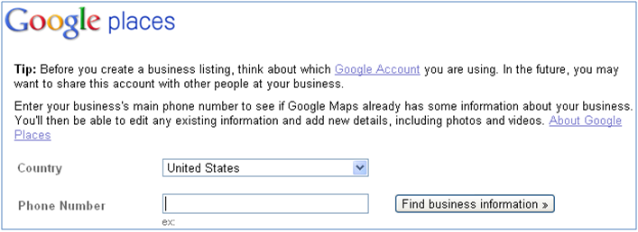 How to Claim Google Places Account